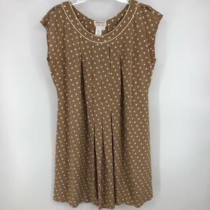 ☀️ Max studio specialty products polka dot dress.